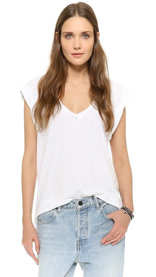 Pam & Gela Kate V Neck Tee