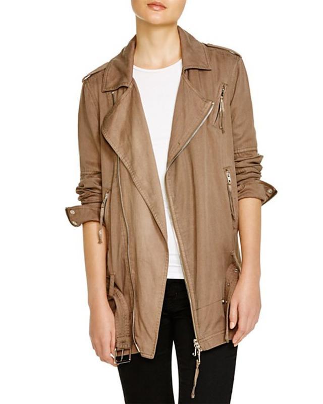 Pam & Gela Long Moto Jacket