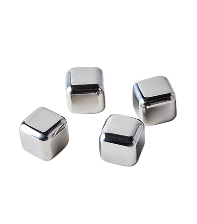 Sparq Home Stainless Steel Whiskey Cubes (Set of 4)