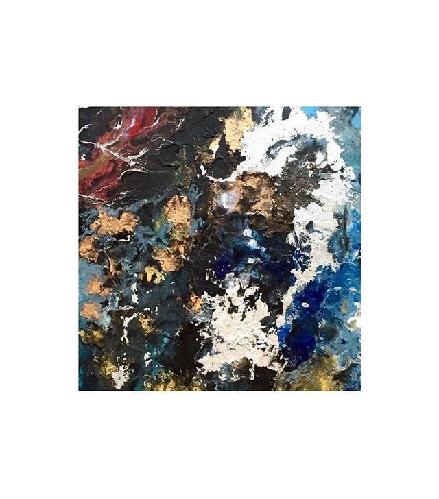Chairish Mixed Medium Original Painting on Canvas