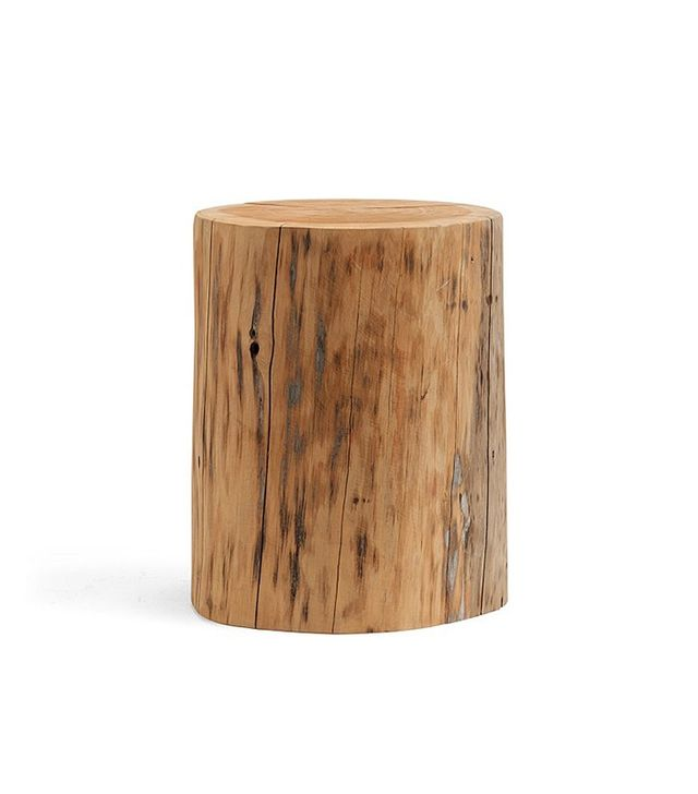 Pottery Barn Stump Side Table