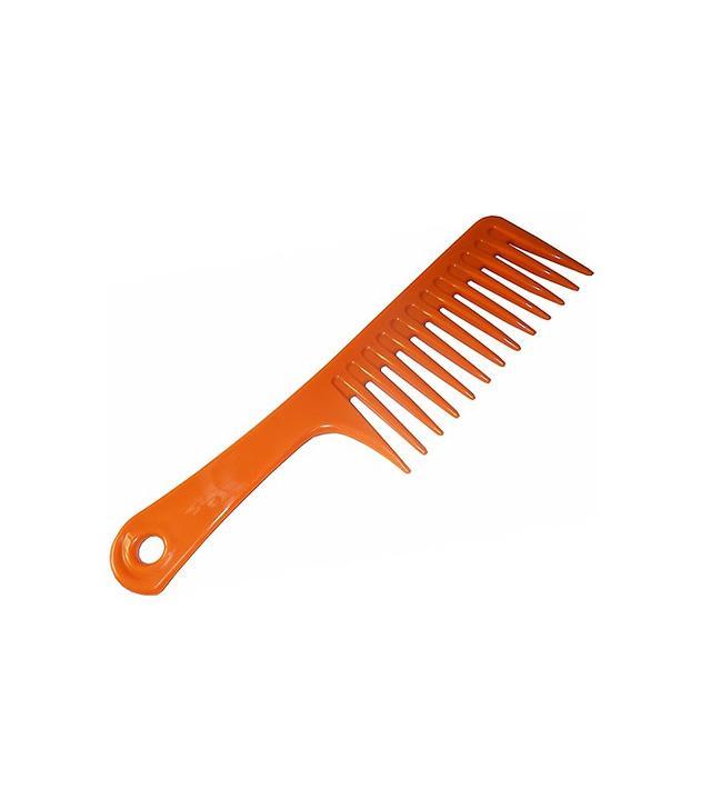 air-drying hair