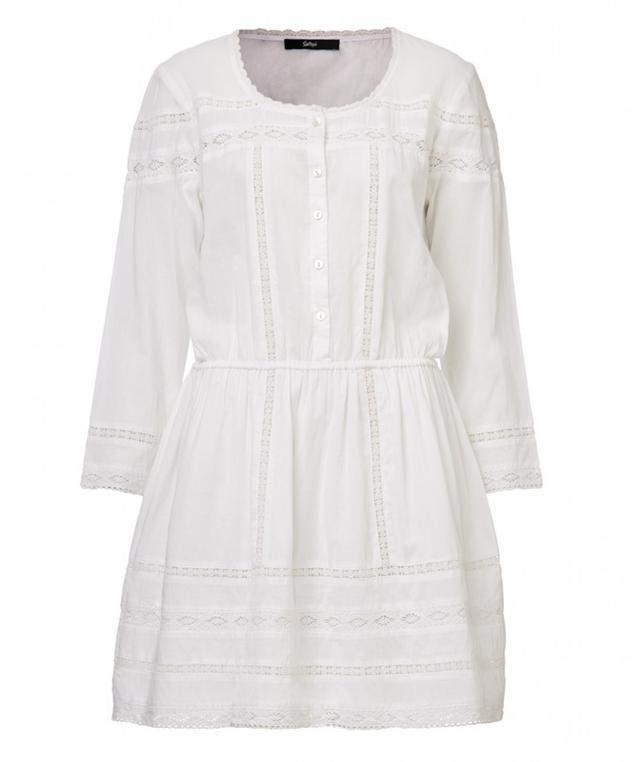 Sportsgirl Lace Insert Mini Dress