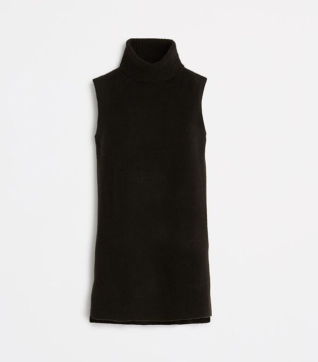 Ann Taylor Sleeveless Turtleneck Tunic