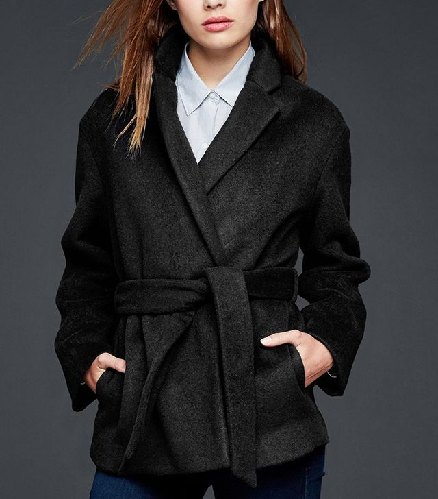 Gap Wool Wrap Coat