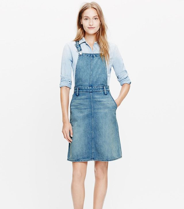 Madewell Denim Jumper Dress