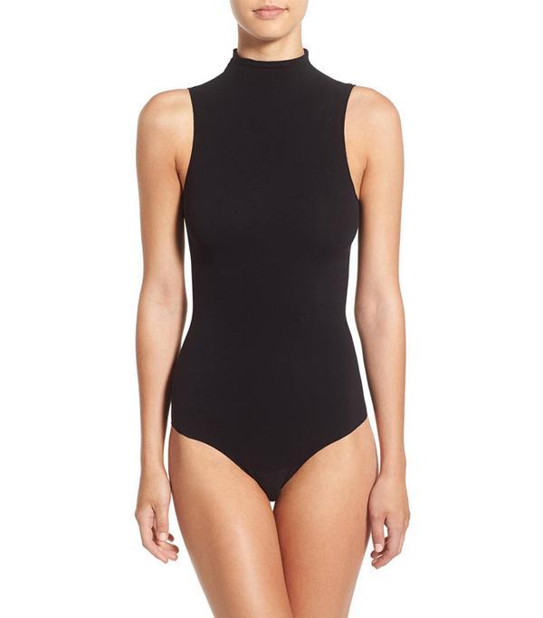 'Ballet Body' Sleeveless Thong Bodysuit