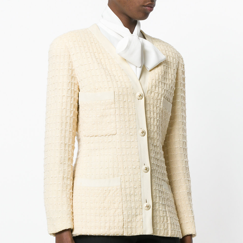 Boucle Fitted Jacket