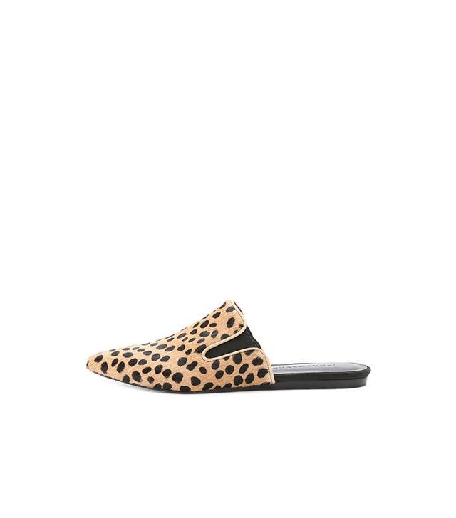 Jenni Kayne Leopard Mule Slides