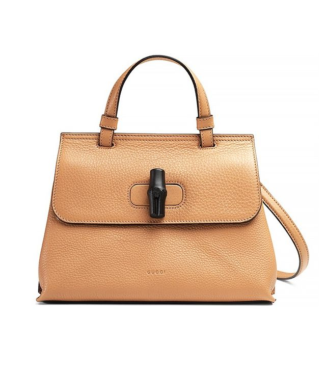 Gucci Daily Leather Top Handle Bag
