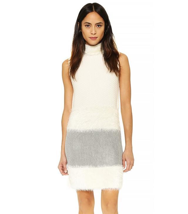 Diane von Furstenberg DVF Plush Dress