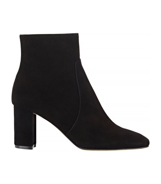 Barneys New York Suede Ankle Boots