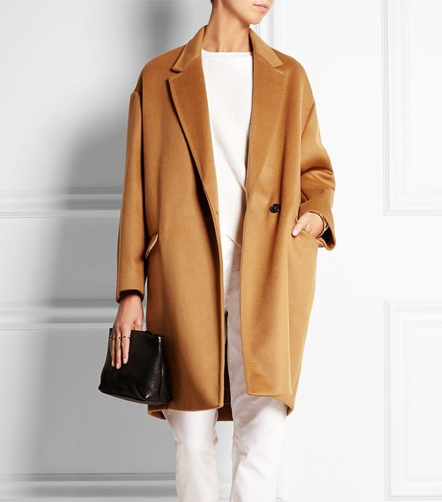 Isabel Marant Corey Wool and Cashmere-Blend Coat