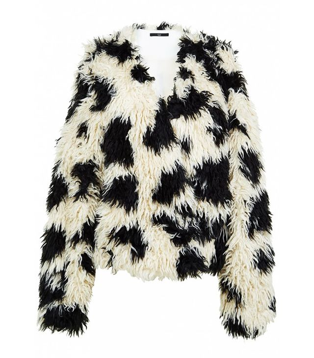 Tibi Suka Faux Fur Cozy Jacket