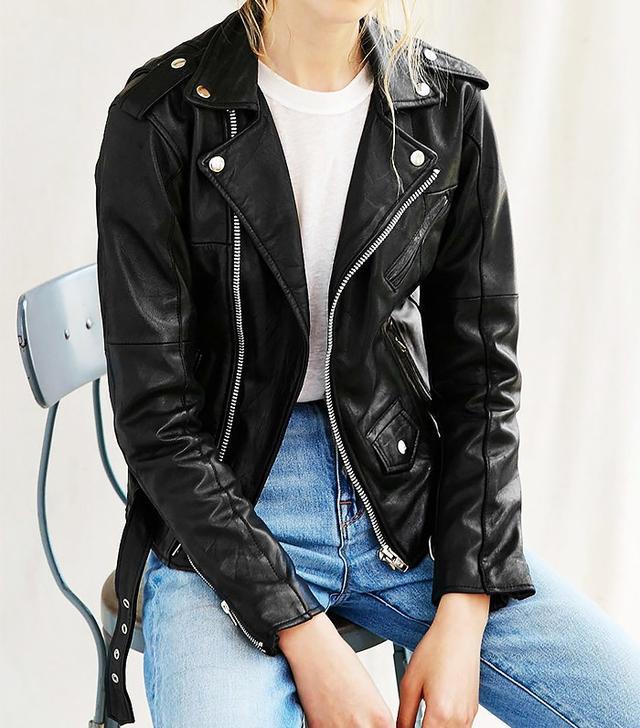 PeleCheCoco Leather Biker Jacket