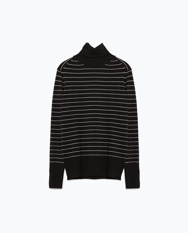 Zara Polo Neck Sweater