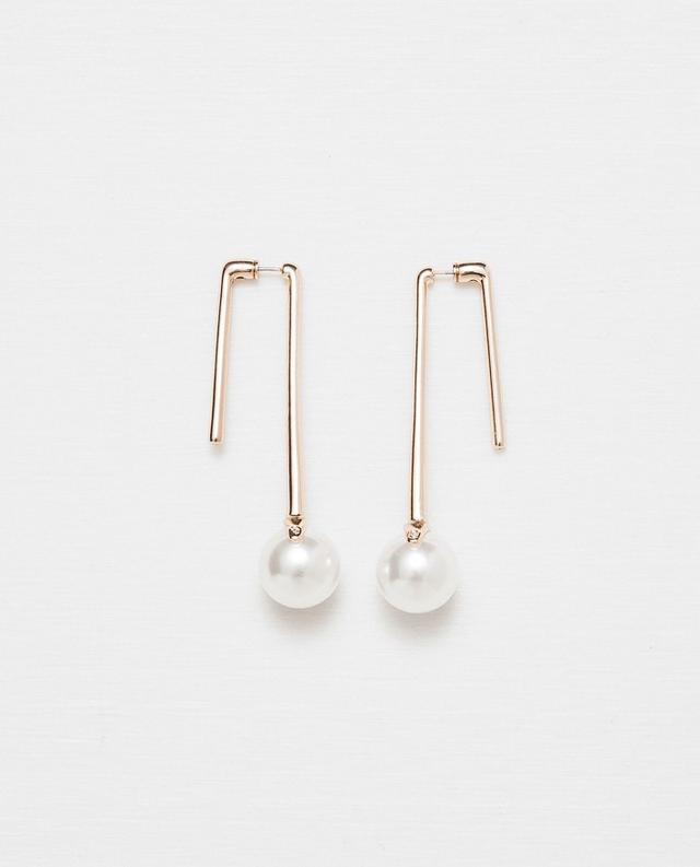 Zara Earrings With Round Stones