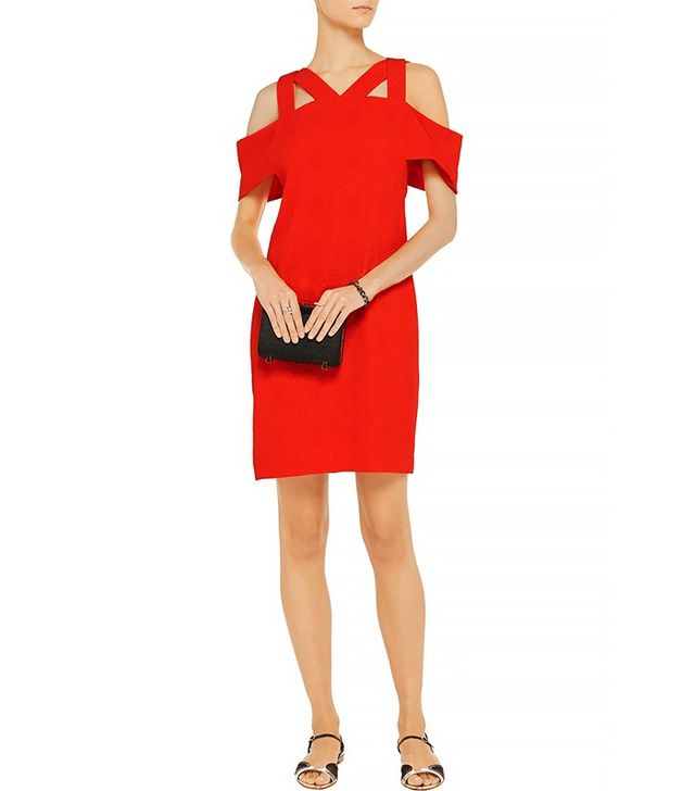Sandro Ristretto Cutout Mini Dress