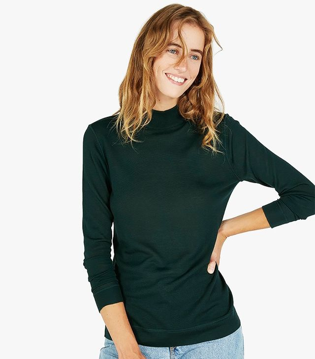 Everlane The Luxe Sweater Mockneck