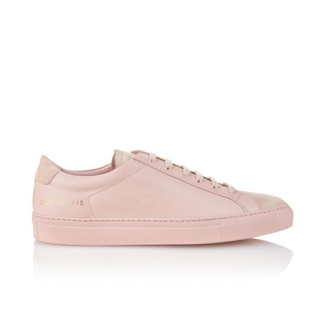 Achilles Leather Low-Top Trainers