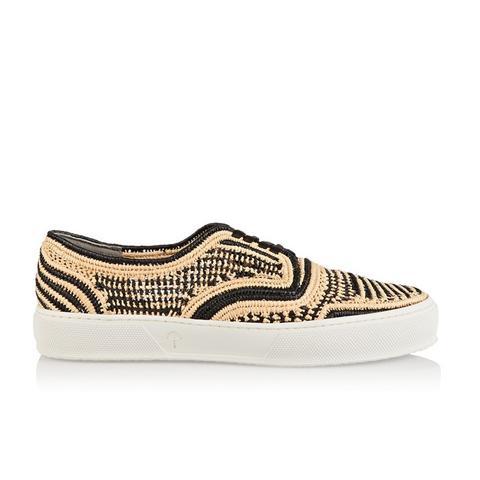 Teba Raffia Sneakers