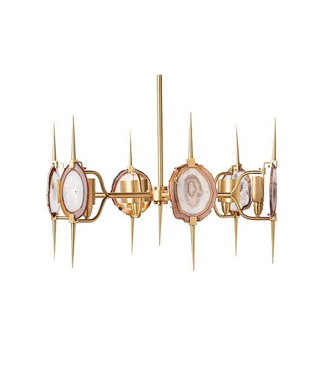 Emporium Home Eclipse Agate Chandelier