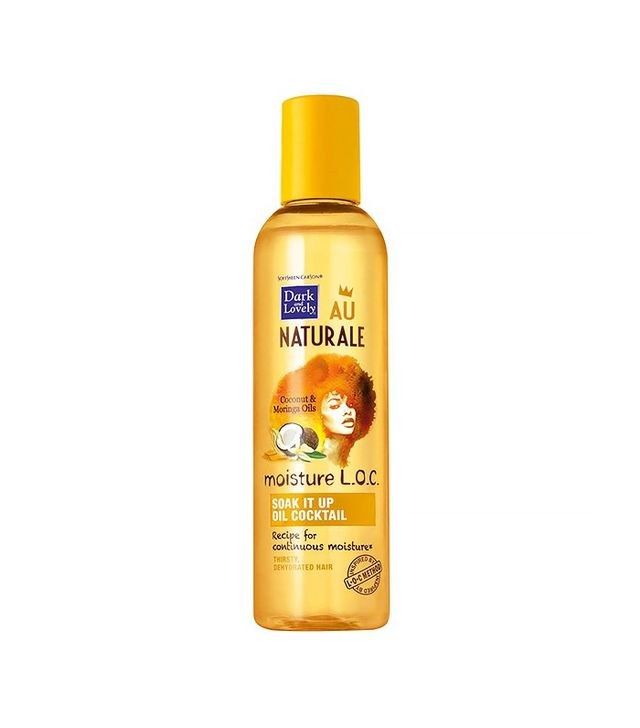 Dark and Lovely Au Naturale Moisture L.O.C. Soak It Up Oil Cocktail