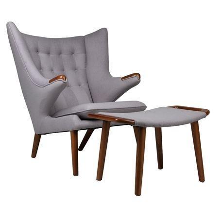 Matt Blatt Chair + Ottoman