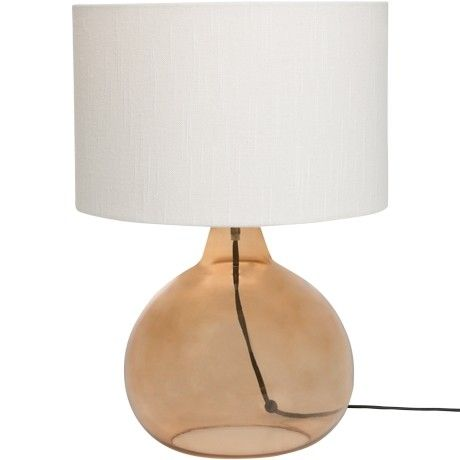 Freedom Azaria Table Lamp in Brown