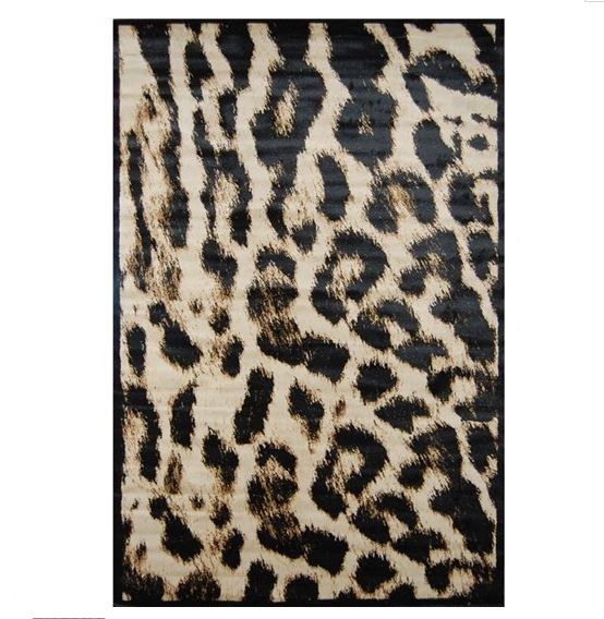 Phrear Rugs Jungle Rug in Leopard Pattern