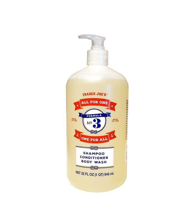 Trader Joe's Formula No. 3 All for One, One for All Shampoo Conditioner & Body Wash