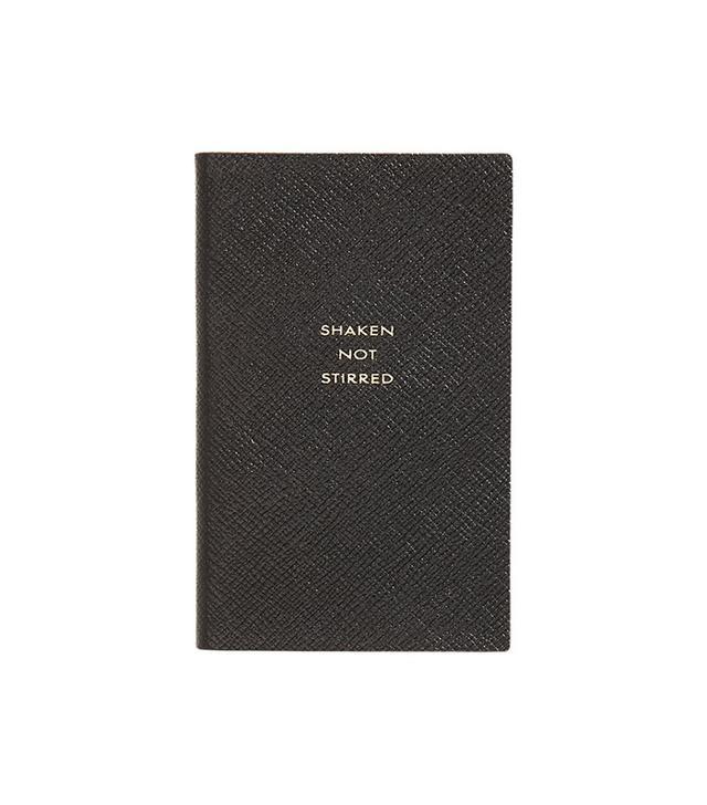 Smythson Panama Shaken Not Stirred Notebook