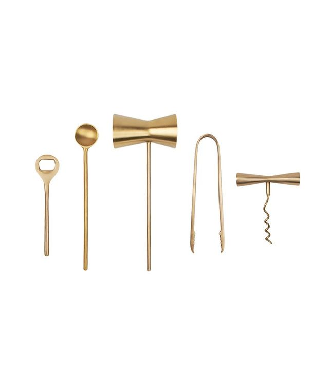 Canvas Home Brass Bar Tools