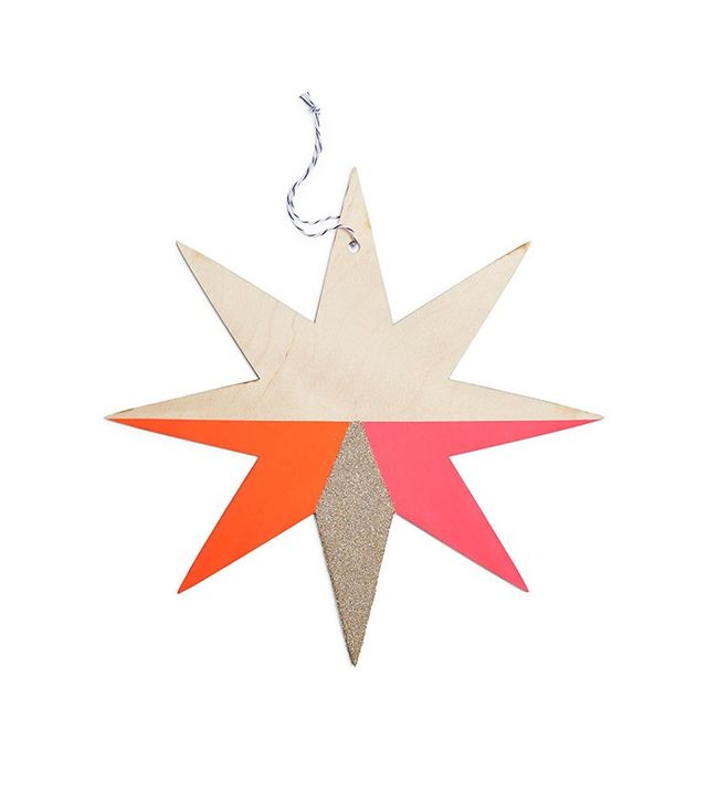 The Great Lakes Goods Large Starburst Ornament