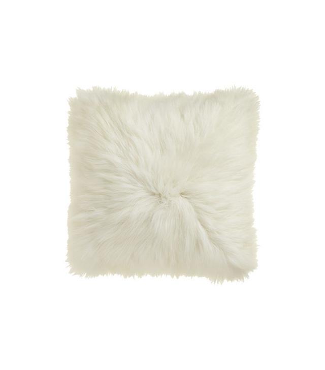 CB2 Icelandic Sheepskin Pillow