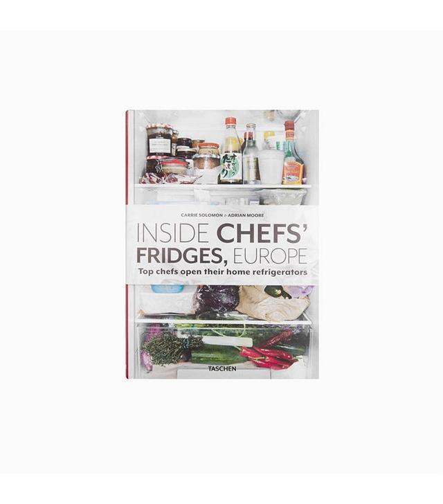 Taschen Inside Chefs' Fridges, Europe