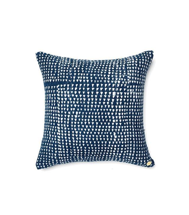 St. Frank Indigo Dyed Pillow III