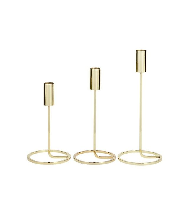 CB2 3 Piece Roundabout Candle Holder