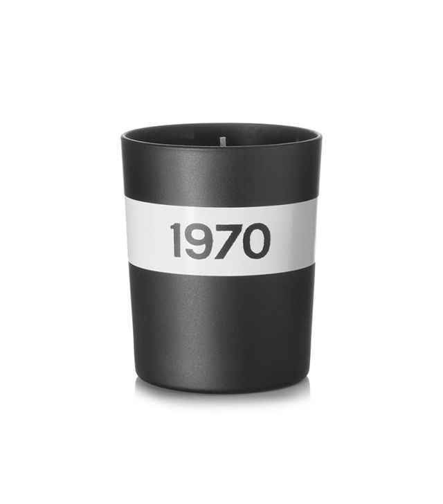 Bella Frued Parfum 1970 Black Musk and Patchouli Scented Candle