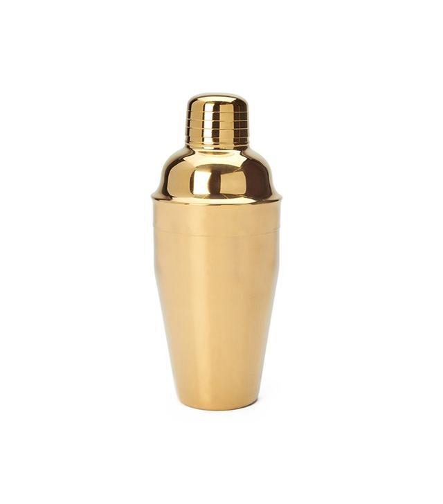 Consort Design Gold Cocktail Shaker
