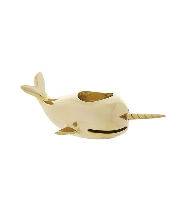 CB2 Narwhal Candle Holder