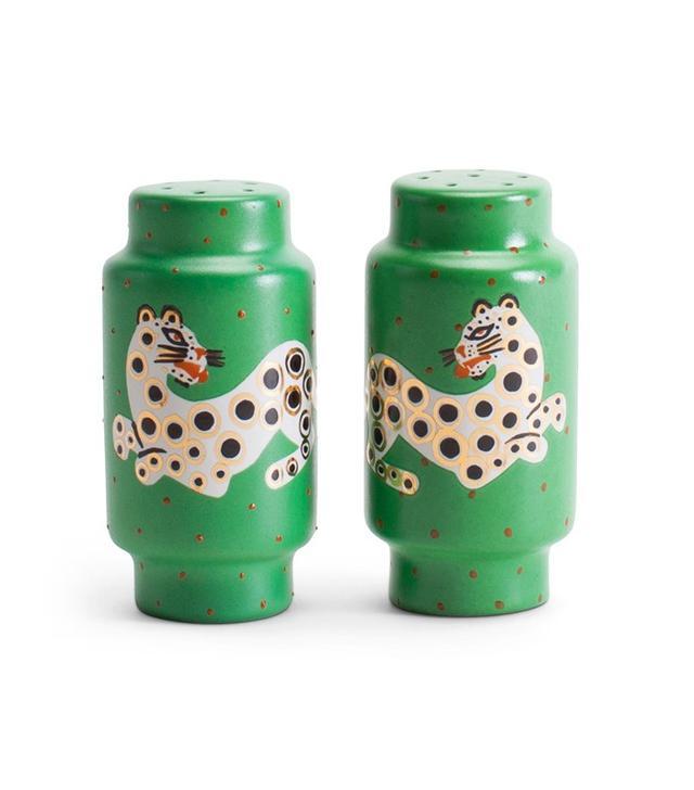 Waylande Gregory Leopard Salt and Pepper Shakers