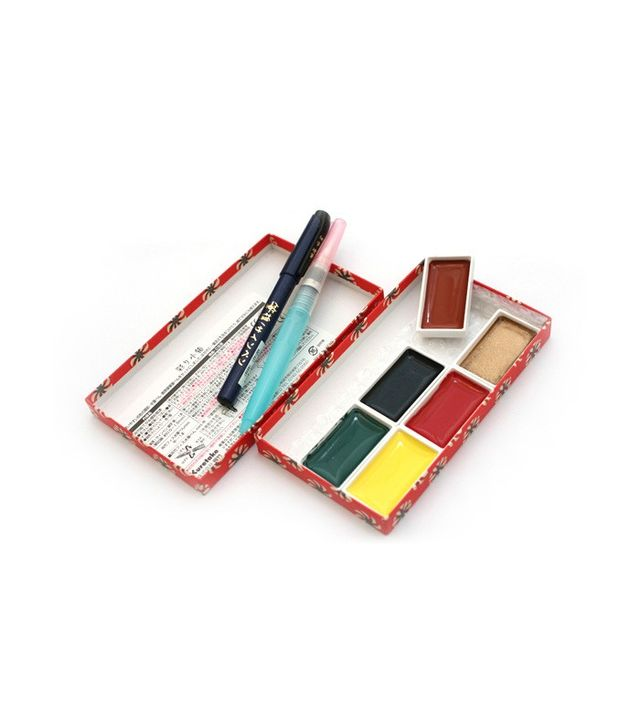 Kuretake Little Red Watercolor Gift Set