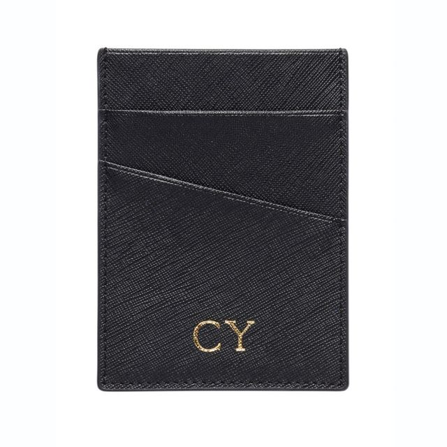 The Daily Edited Black Angled Card Holder