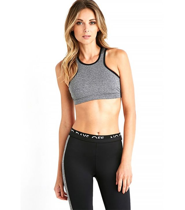 Forever 21 High Impact Racerfront Sports Bra