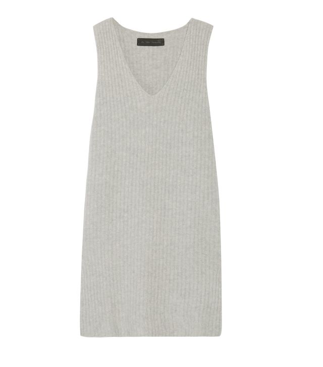 Ribbed Cashmere-blend Dress