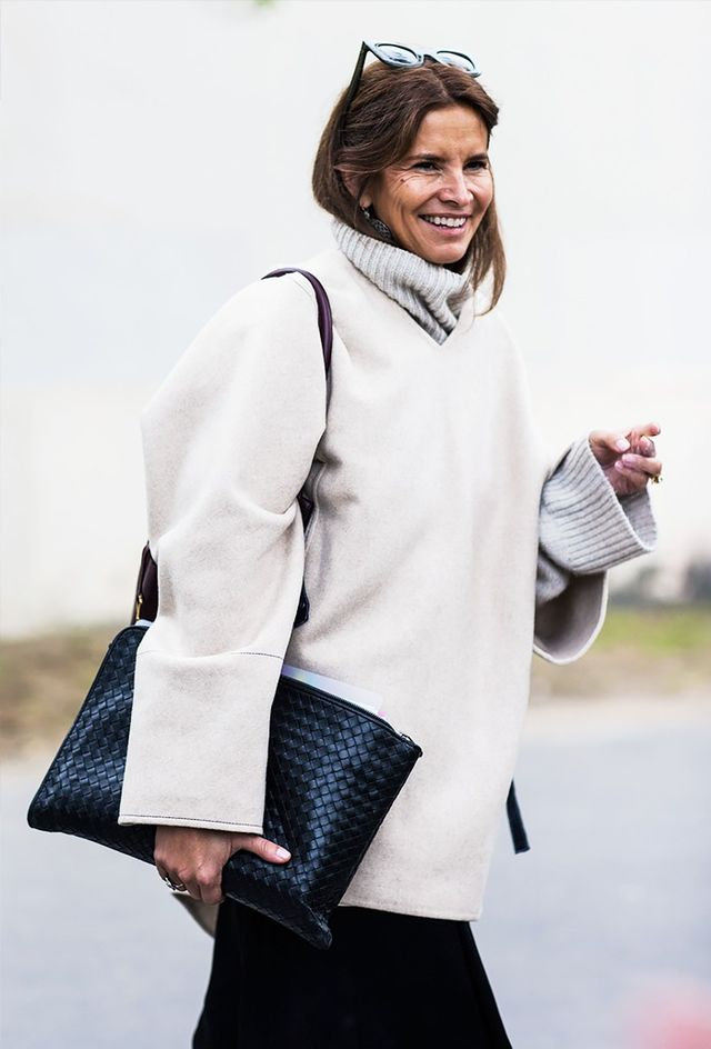 It's simple: more knits create more warmth. But also, don't be afraid to use this trick as a way to play up colors, patterns, and interesting silhouettes, too.
