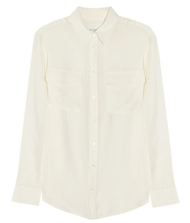 Equipment Signature Washed-Silk Shirt