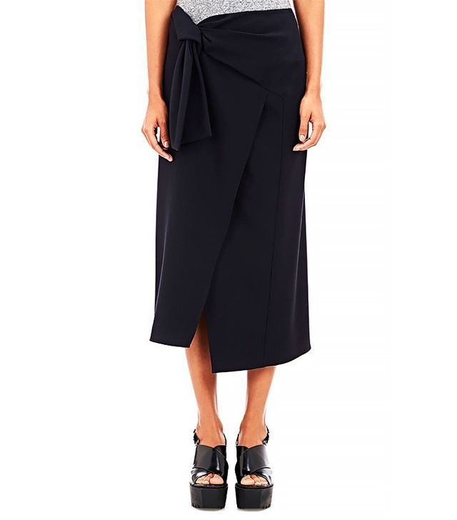 Opening Ceremony Walt Suiting Side-Tie Skirt