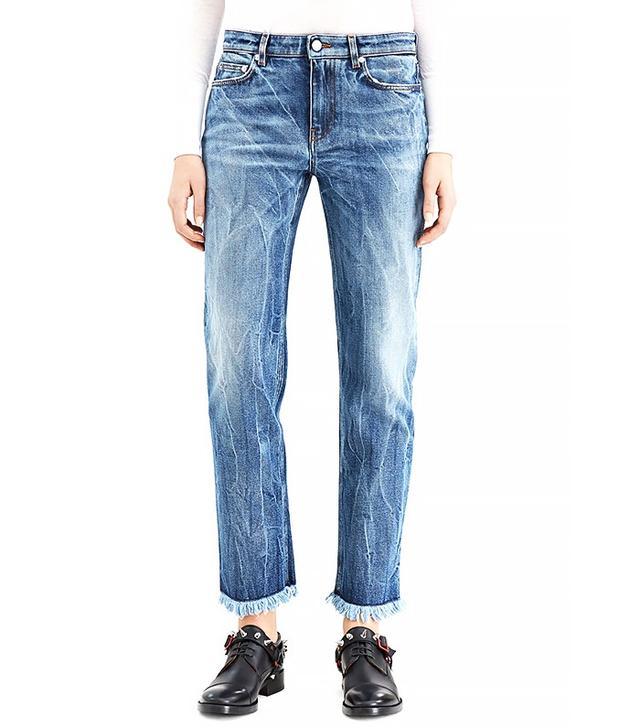 Acne Studios Row Fringe CLVT Jeans